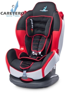 Autosedačka Caretero Sport Turbo Red